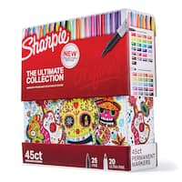 Deals on 45-Count Sharpie The Ultimate Collection Permanent Markers