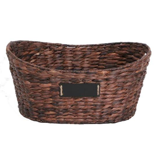 Ashlandlarge Dark Brown Laundry Basket By Ashland Michaels Dailymail