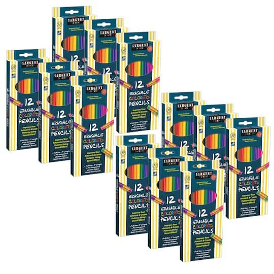 Sargent Art� Erasable Colored Pencils, 12 Packs Of 12 | Michaels�