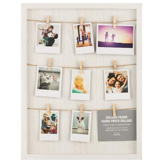 Shop For The White Board Frame With Cloth Pin By Studio Decor At Michaels