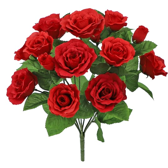Buy the Red Tea Rose Bush By Ashland® at Michaels