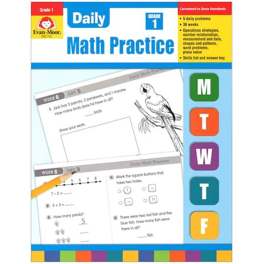Evan Moor® Daily Math Practice, Grade 1