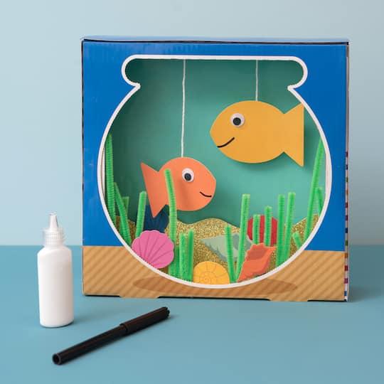 arts and crafts DIY supplies Build it yourself aquarium kit.