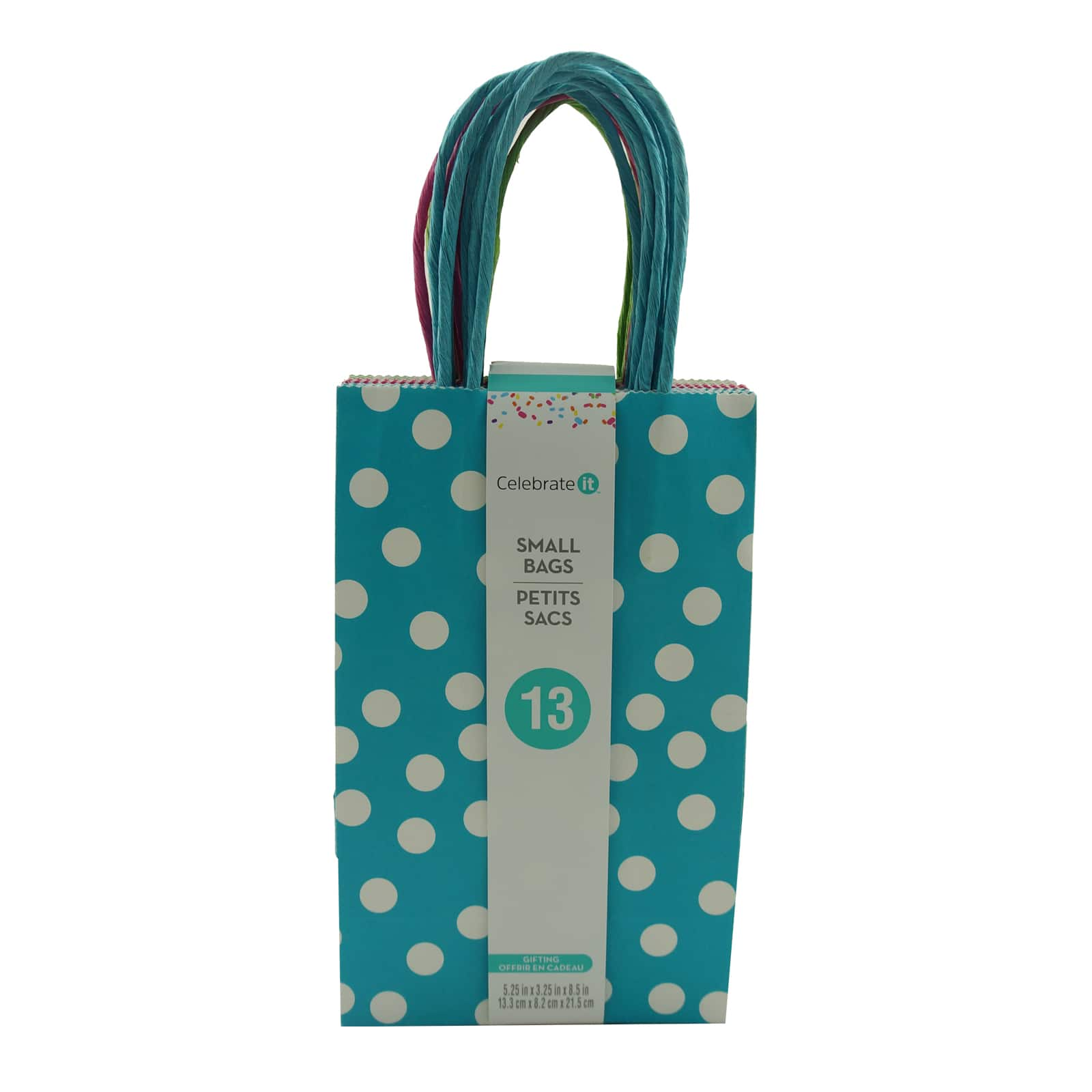 Assorted Medium Polka Dots Gift Bags by Celebrate It™. img. img img  sc 1 st  Michaels Stores & Shop for the Assorted Medium Polka Dots Gift Bags by Celebrate It ...