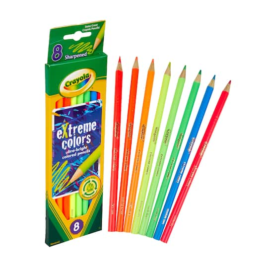 Crayola® Extreme Colored Pencils | Michaels