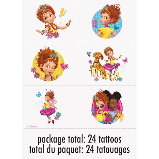 Disney Fancy Nancy Tattoos 24ct