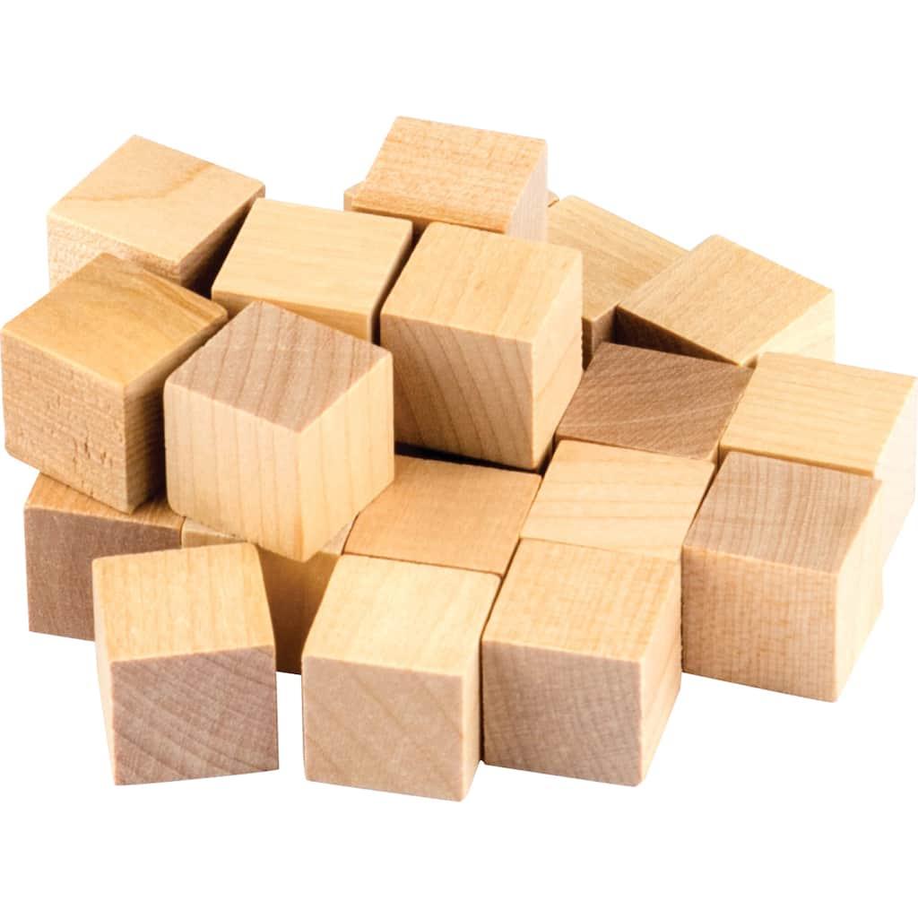 Teacher Created Resources Stem Basics Wooden Cubes 6 Packs Of 25