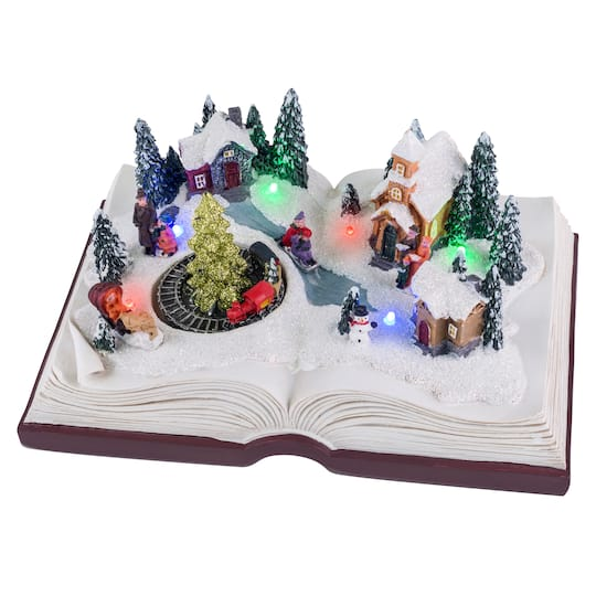 Animated Christmas Winter Musical Storybook By Mr. Christmas | Michaels�