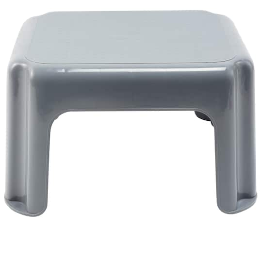 Superb Gray Step Stool By Creatology Frankydiablos Diy Chair Ideas Frankydiabloscom
