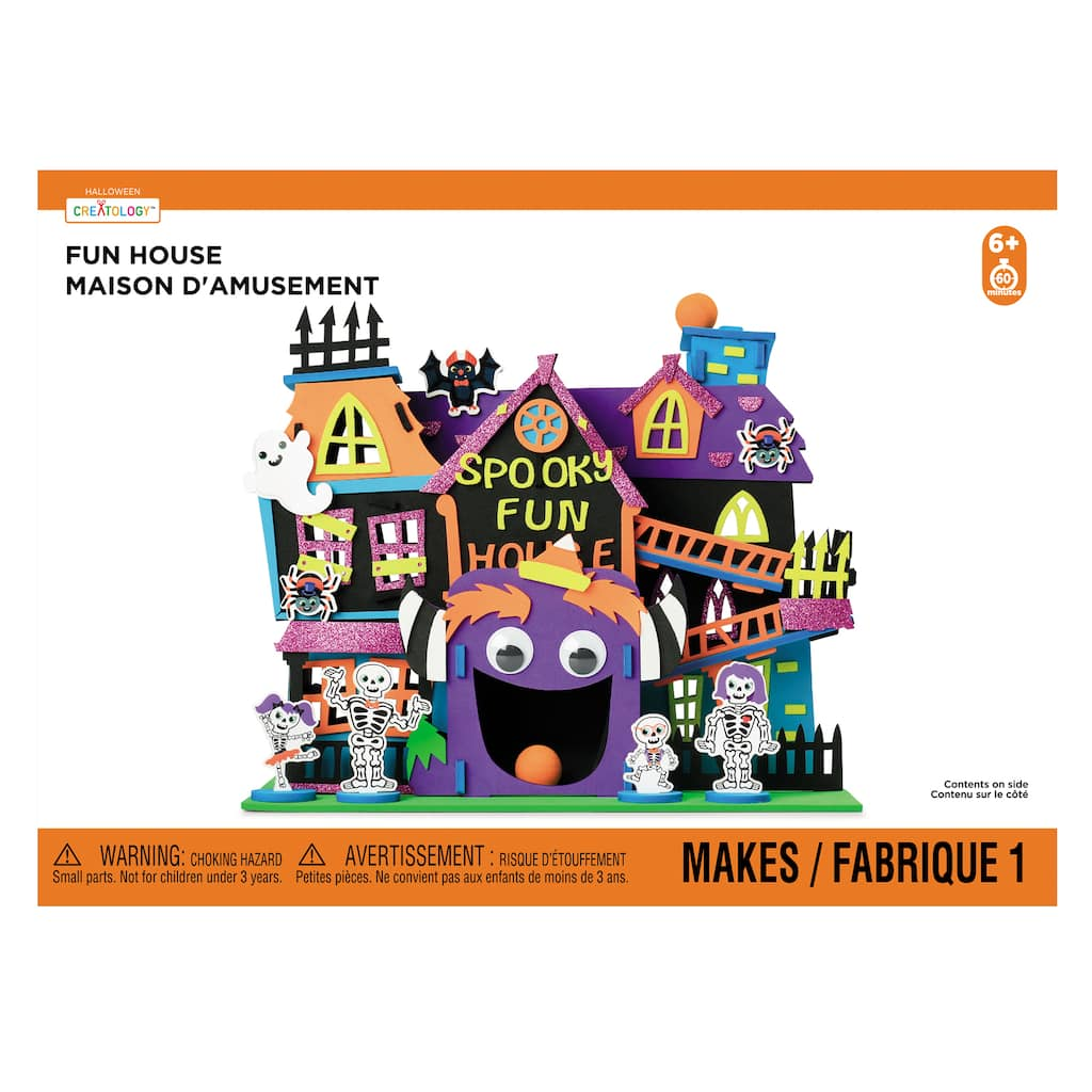 Foam Fun House Kit by Creatology is an Instant Hit for Kids of All Ages!