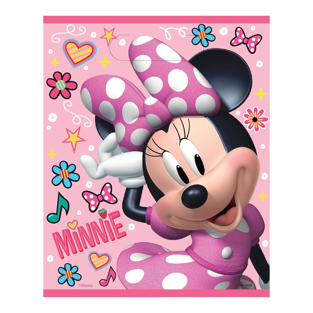 Minnie Mouse Goo Bags 8ct