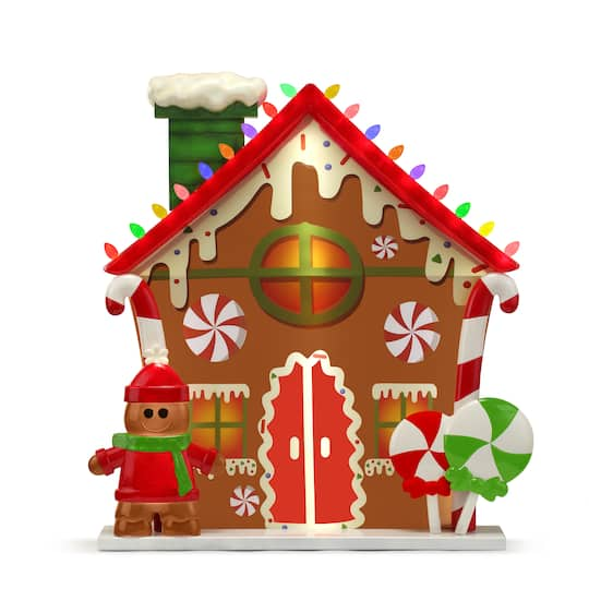 Mr. Christmas 2.8Ft Gingerbread House Blow Mold Village | Michaels�