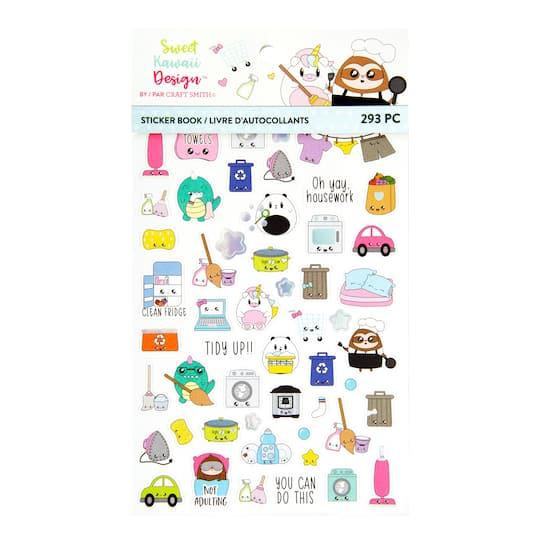 Livre D Autocollants Sweet Kawaii Design De Craft Smith Vie De Famille