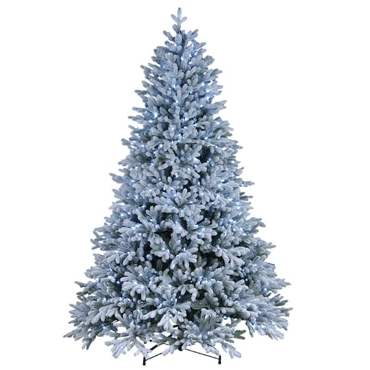 Artificial Christmas Tree Sale.7 5ft Powerconnect Hamilton Spruce Artificial Christmas Tree White Led Lights