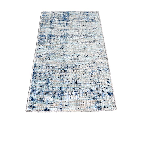 Blue Amp Natural Outdoor Rug By Ashland 2ft X 3ft Michaels