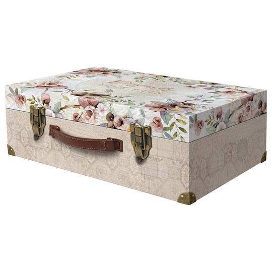 Large Floral Map Valet Case by Ashland® on map chairs, map cabinets, map clothing, map chests, map clocks, map case table, map lamps, map case desk,