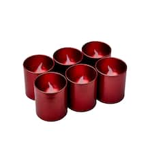 Red LED Votive Candles, 6ct. by Ashland® | Michaels