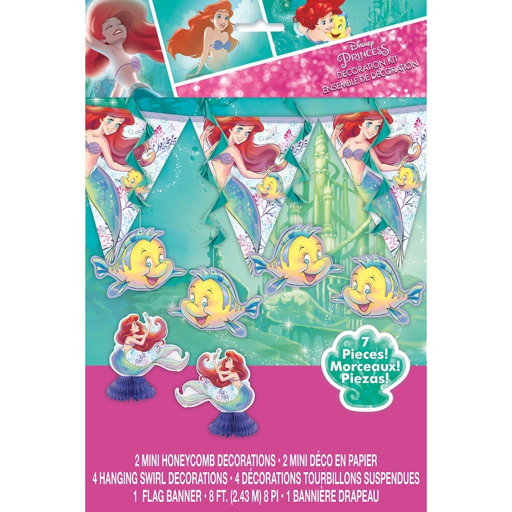5 Piece The Little Mermaid Centerpiece Birthday Party Centerpiece Girl Birthday Party Decorating