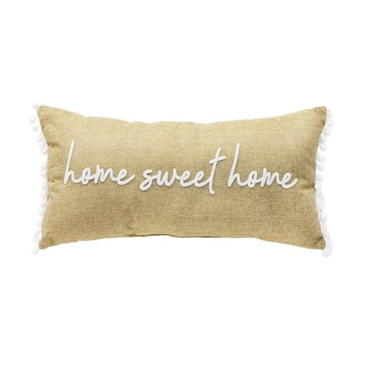 Home Sweet Home Lumbar Pillow By Ashland Michaels