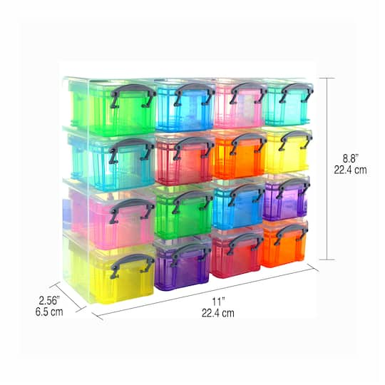 Really Useful Boxes® 16-Box Organizer, large