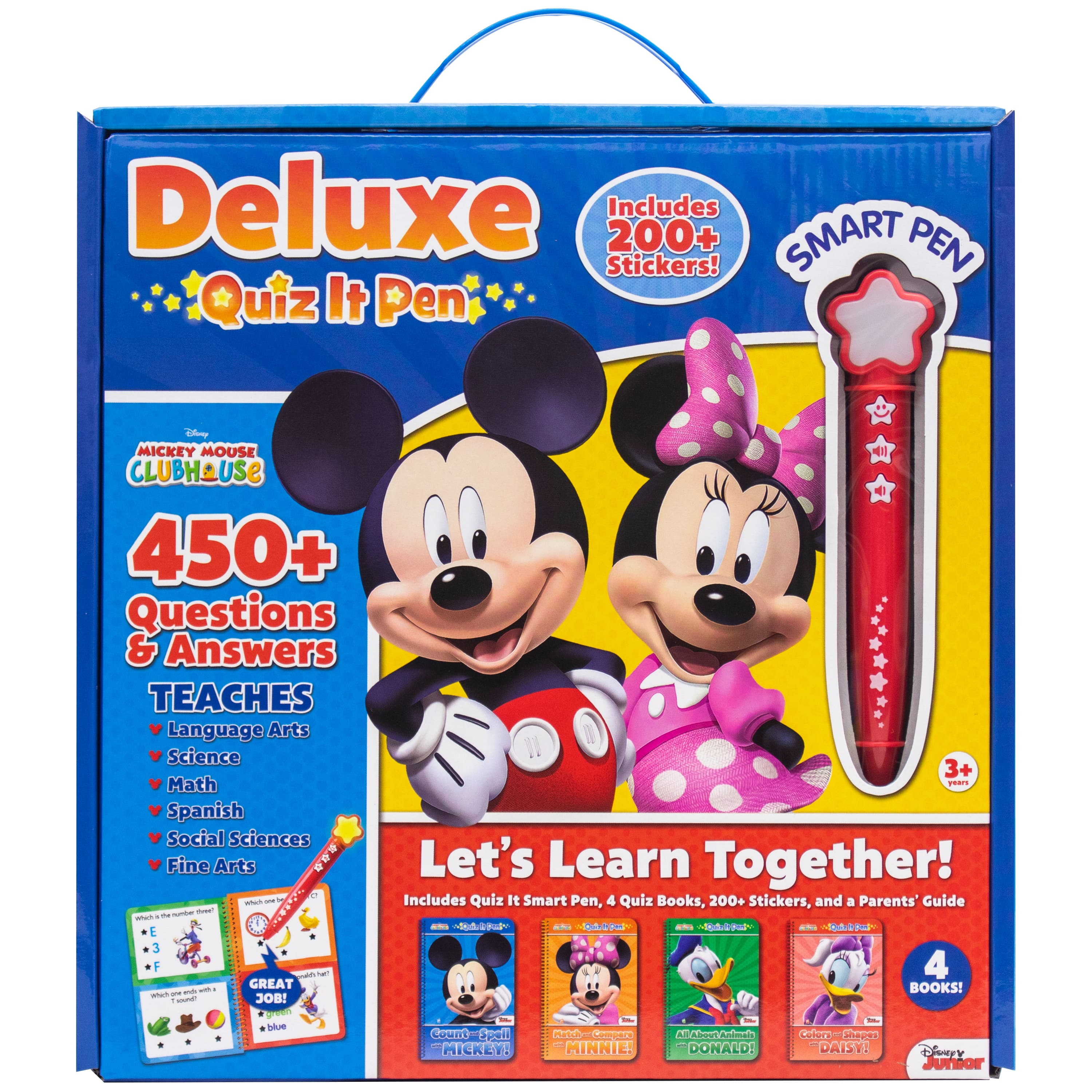 Disney Mickey Mouse Clubhouse 6 Color Pen Party Favors School Supplies