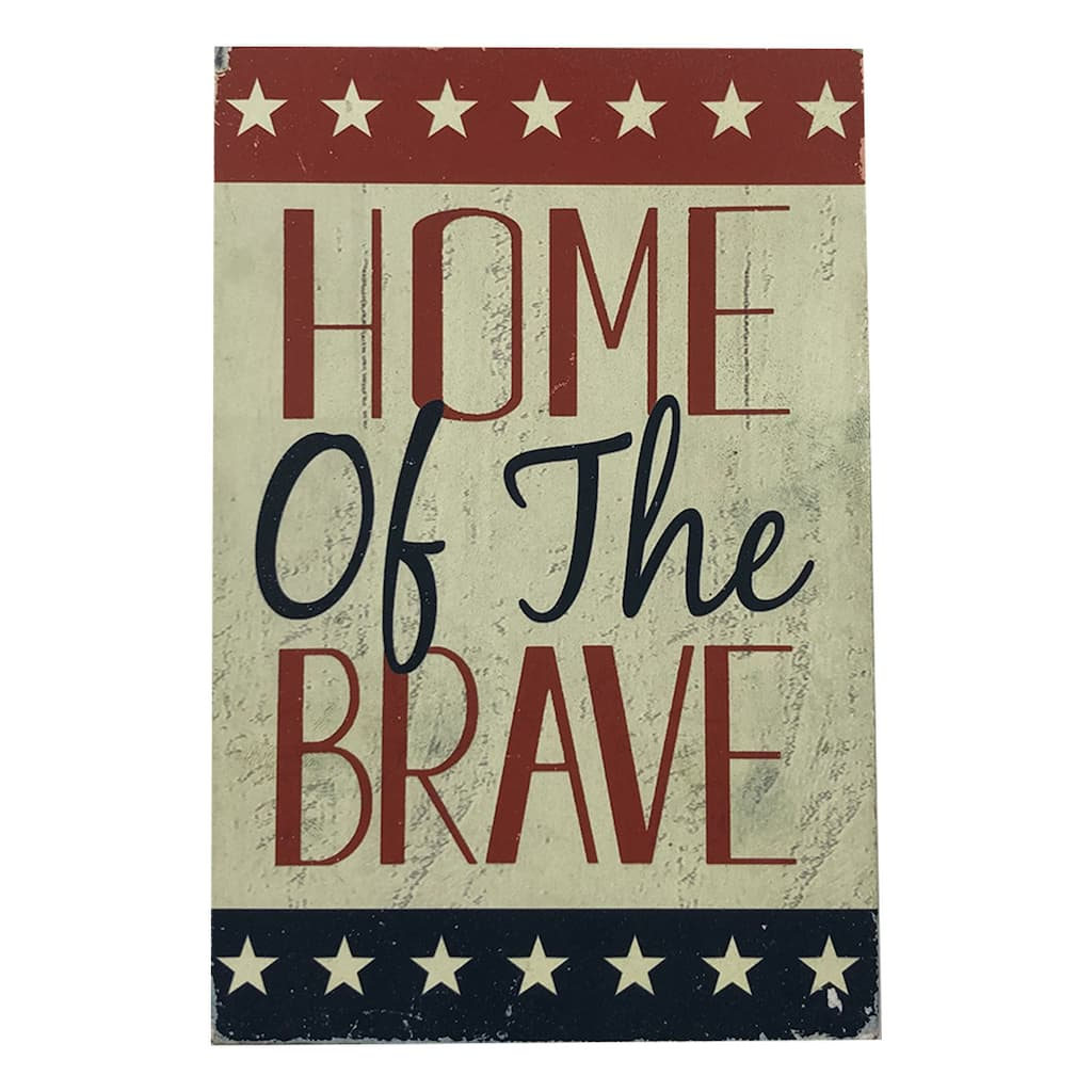 Home of the Brave Tabletop Accent by Ashland® | Michaels
