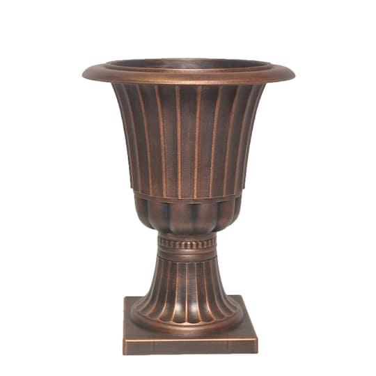 Excellent 16 Bronze Decorative Urn Planter By Ashland Creativecarmelina Interior Chair Design Creativecarmelinacom