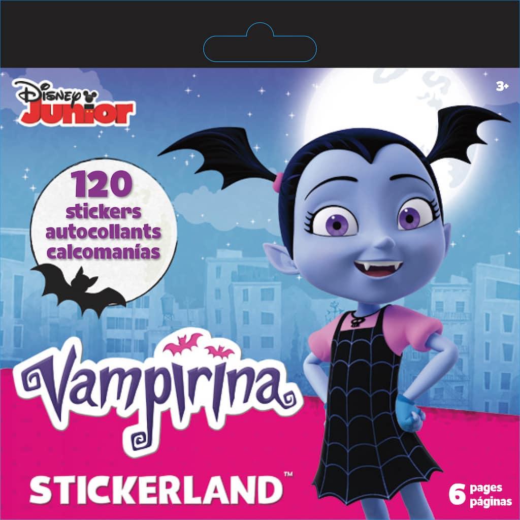 Buy The Disney Junior Vampirina Stickerland Mini Sticker Pad At Michaels