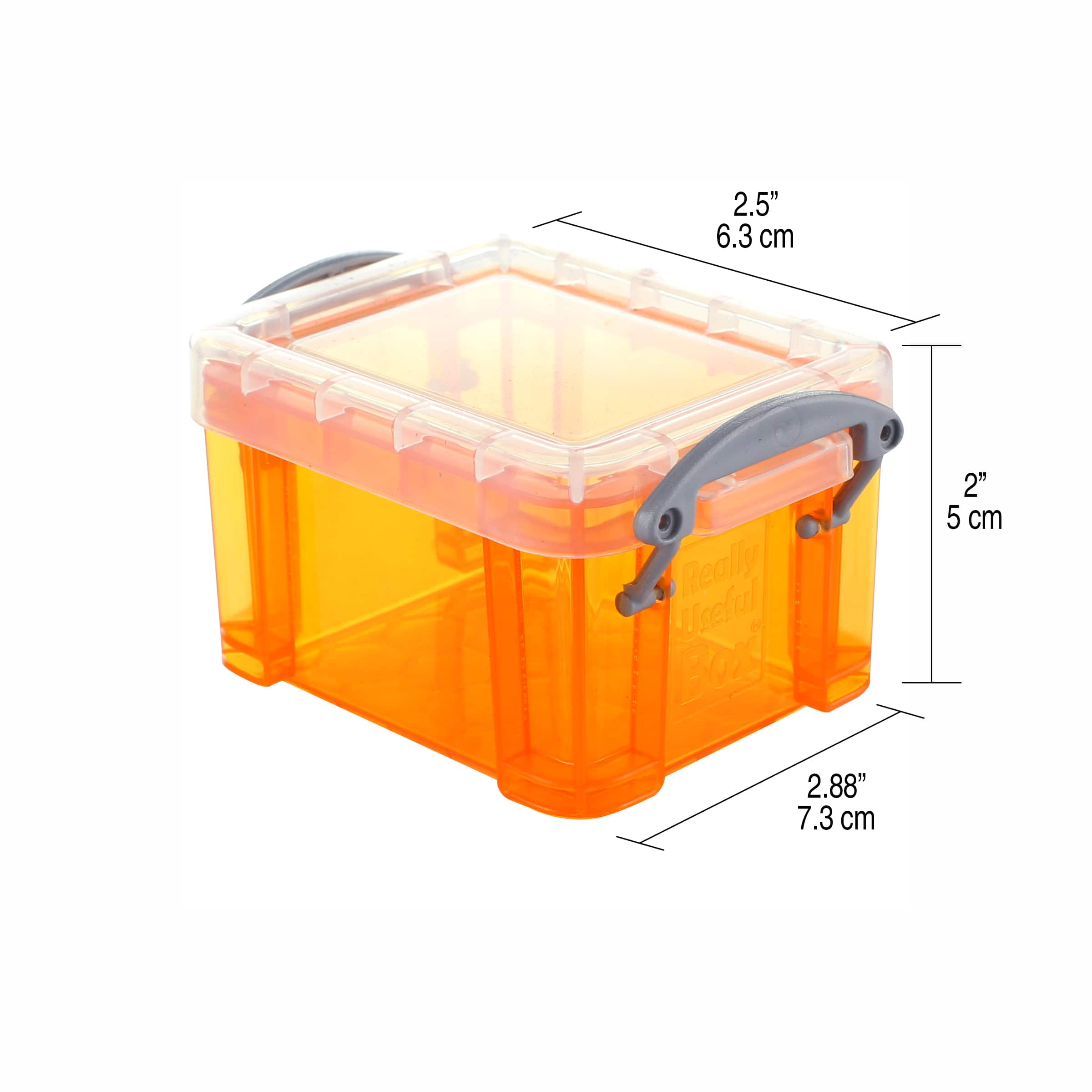 Large Jewellery Coin Pen Stamp Display Storage Case with Snap Close Acrylic Lid