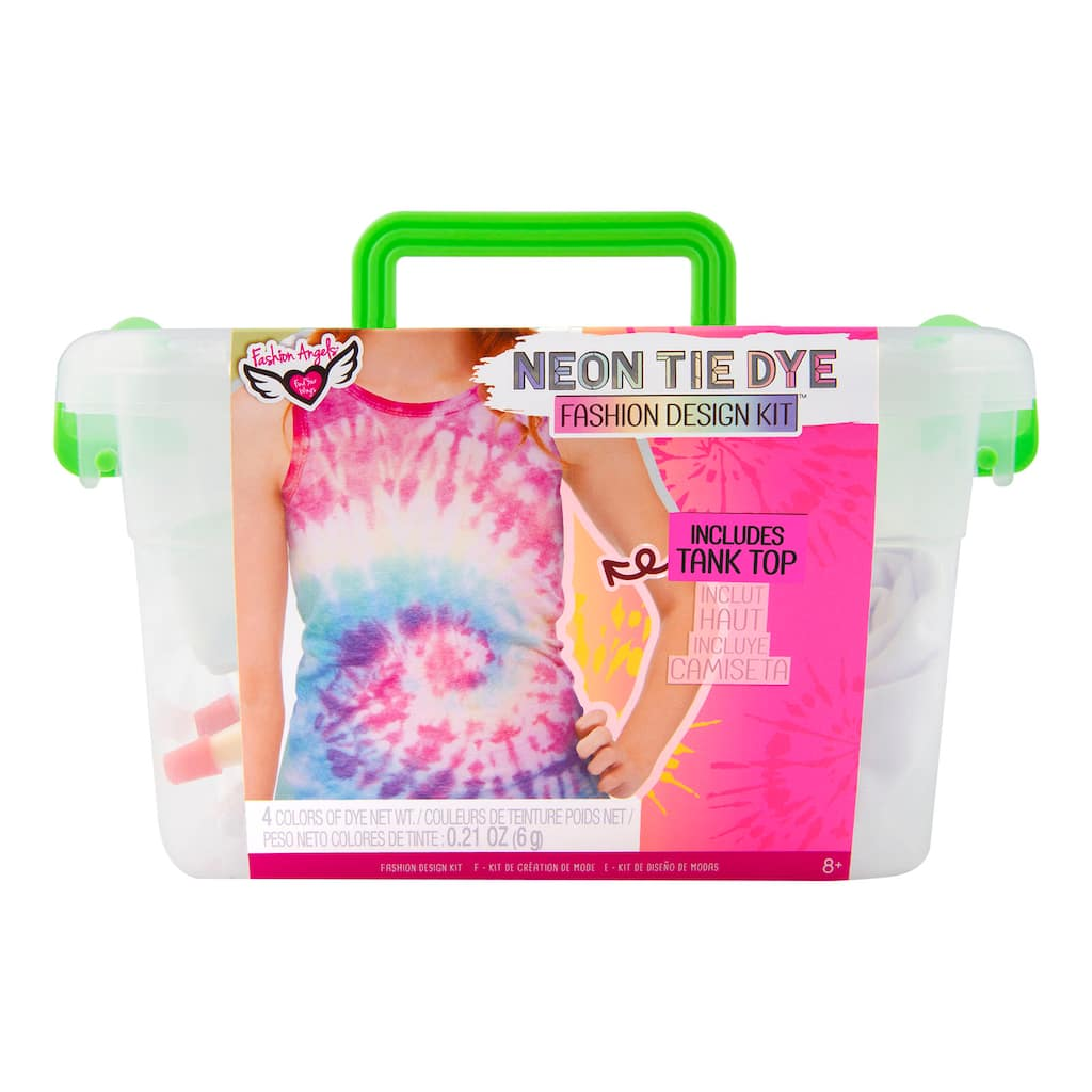 Fashion Angels Neon Tie Dye Fashion Design Kit Michaels