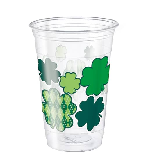 St Patricks Day Plastic Cups St Patricks Day Party Supplies