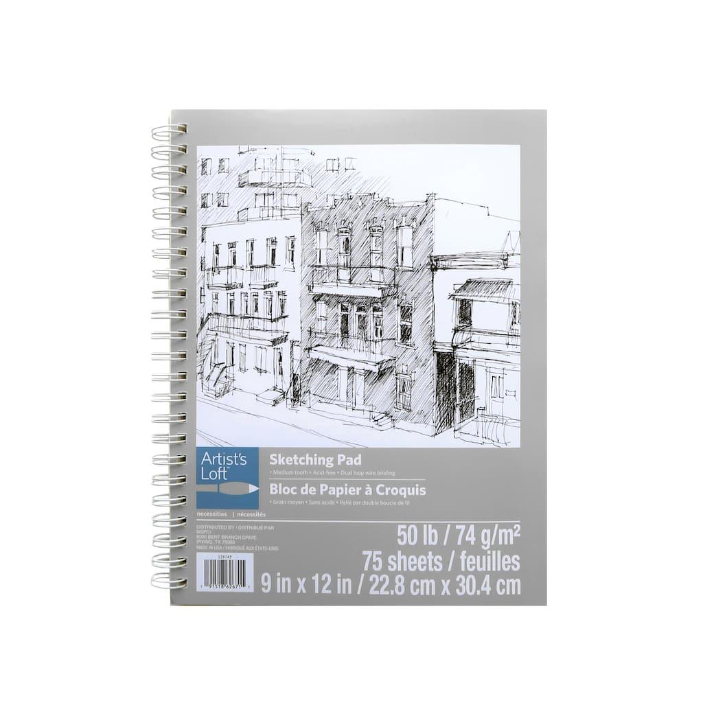 Necessities Sketching Pad By Artist S Loft 9 X 12 Michaels