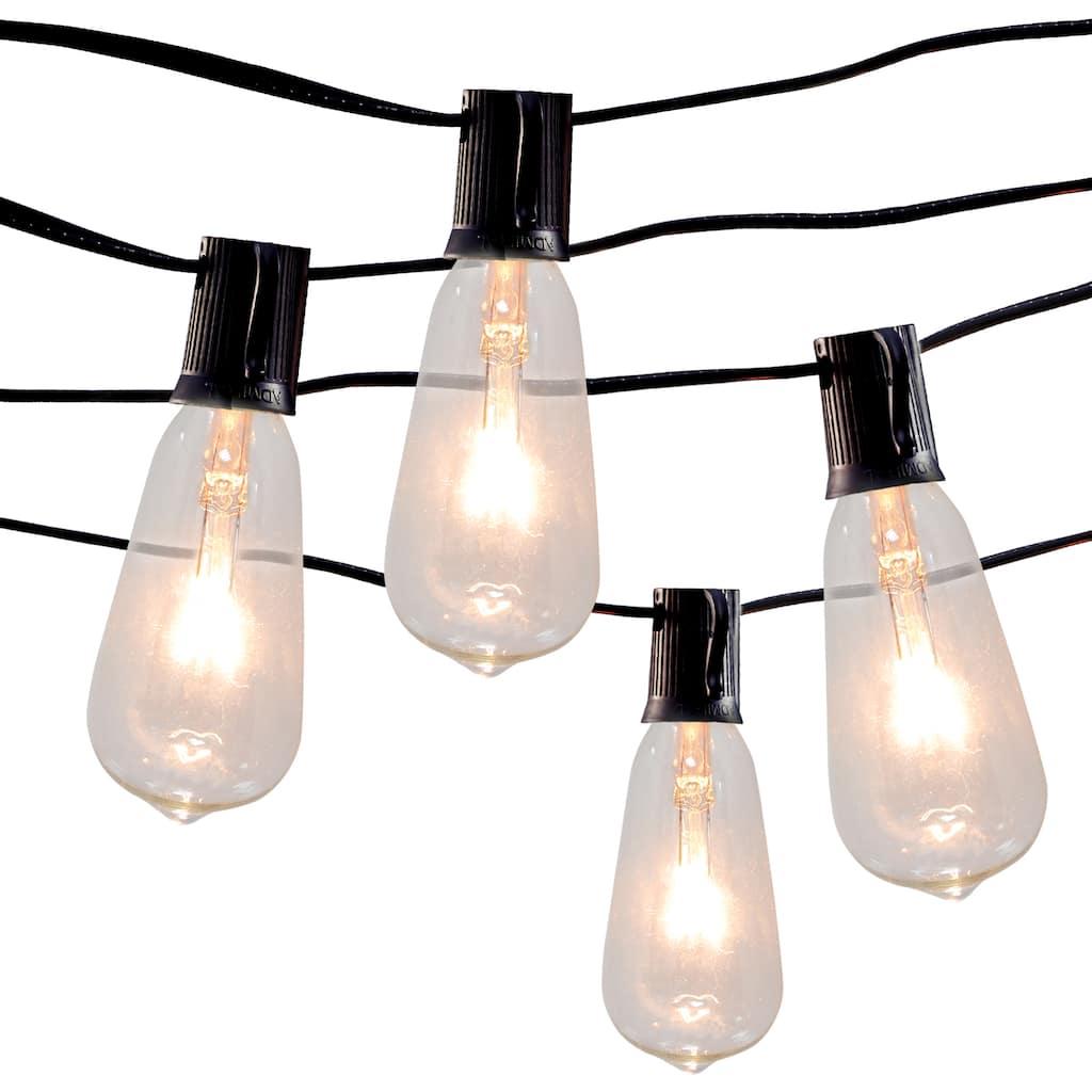 10ct Edison St12 Bulb String Lights By Ashland Michaels