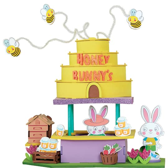 Find The Foam 3D Honey Bunny Craft Kit By CreatologyTM At Michaels