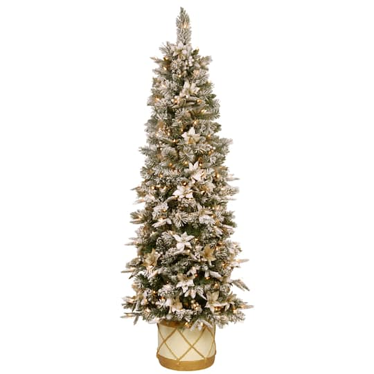 Pre Lit Half Christmas Tree: Purchase The 6ft. Pre-Lit Colonial Artificial Christmas
