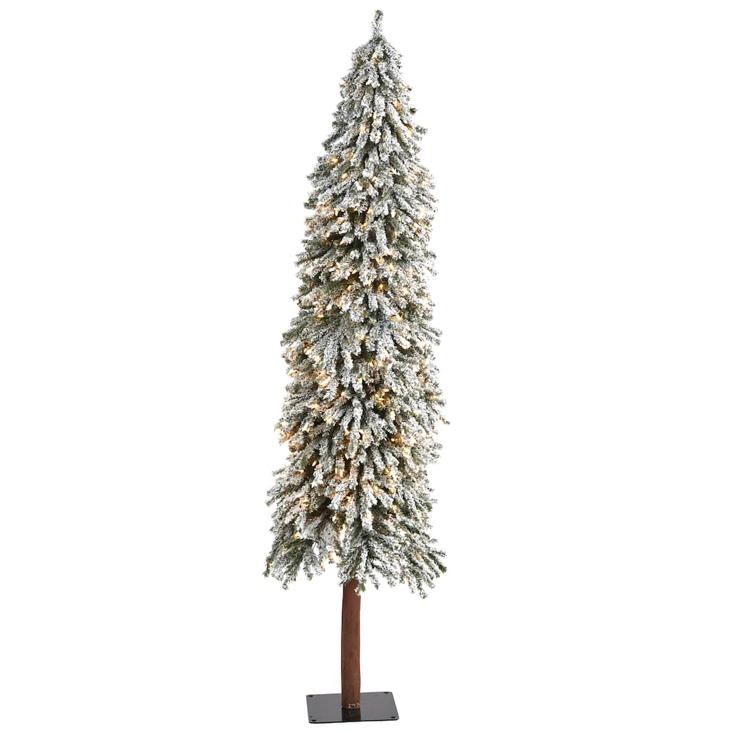 7ft Christmas Tree Lights Ge 7 Ft Asheville Fir Pre Lit Traditional Artificial Christmas Tree With 500 Multi Function Color Changing Warm White Led Lights In The Artificial Christmas Trees Department At