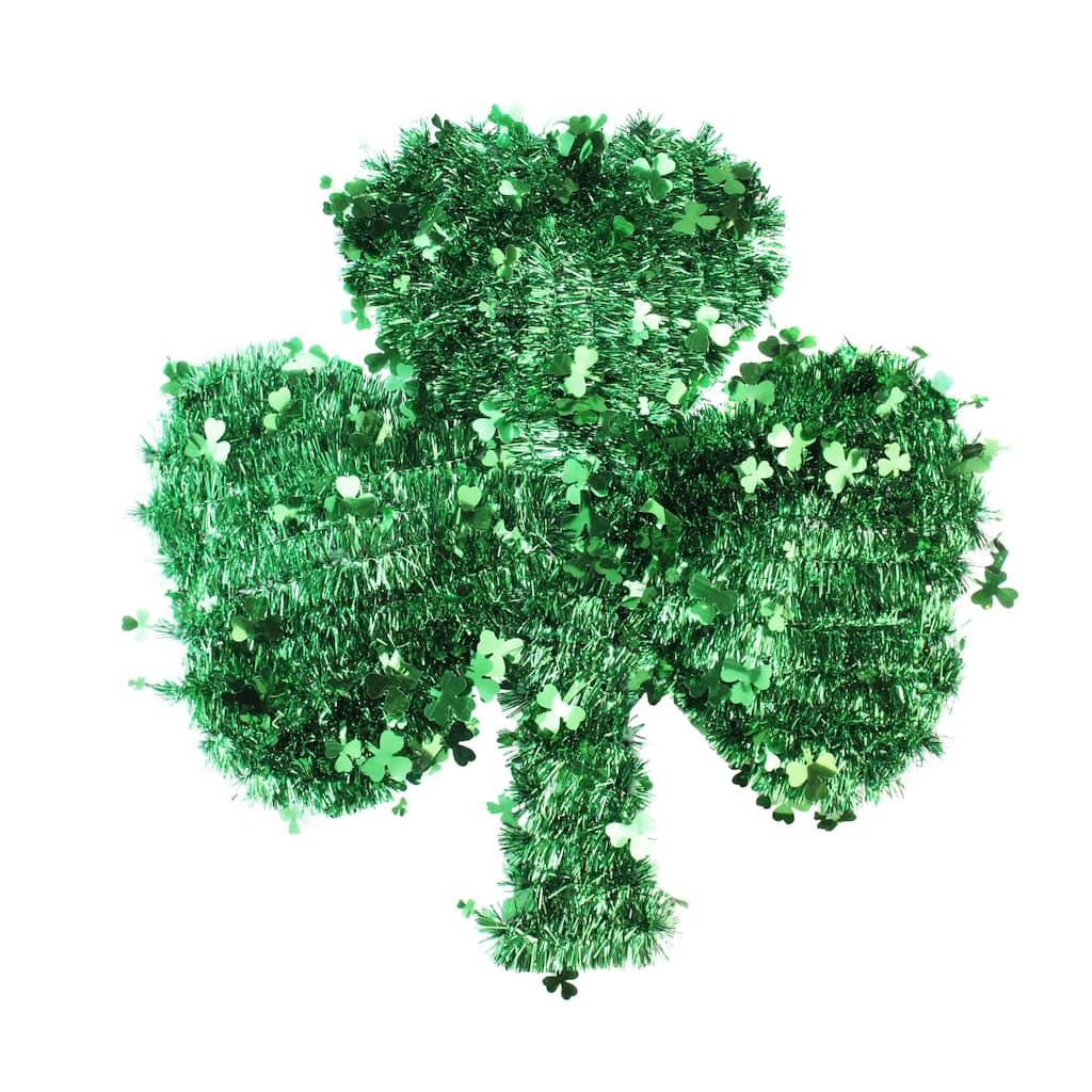 Saint Patricks Day Shamrock Tinsel