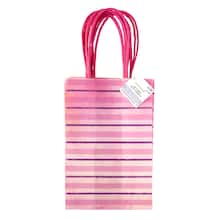 2ad75ef0f2 small pink stripe gift bags by celebrate it™