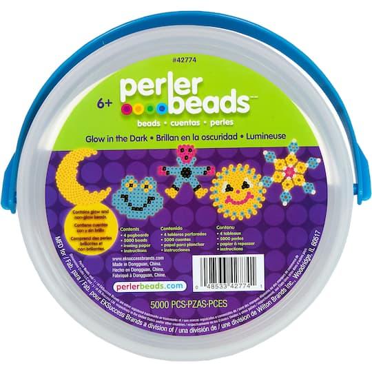 Perler Beads™ Glow in the Dark Activity Bucket
