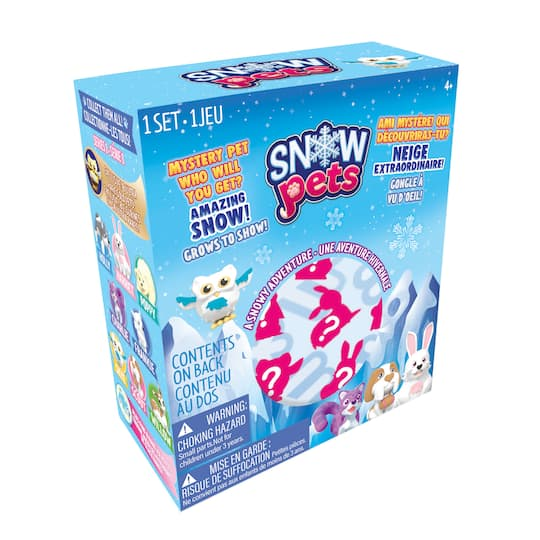 Assorted Snow Pets & Amazing Snow Kit By Be Amazing! | Michaels�