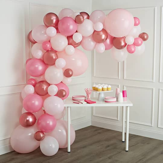 10ft. Pink Balloon Garland by Celebrate It