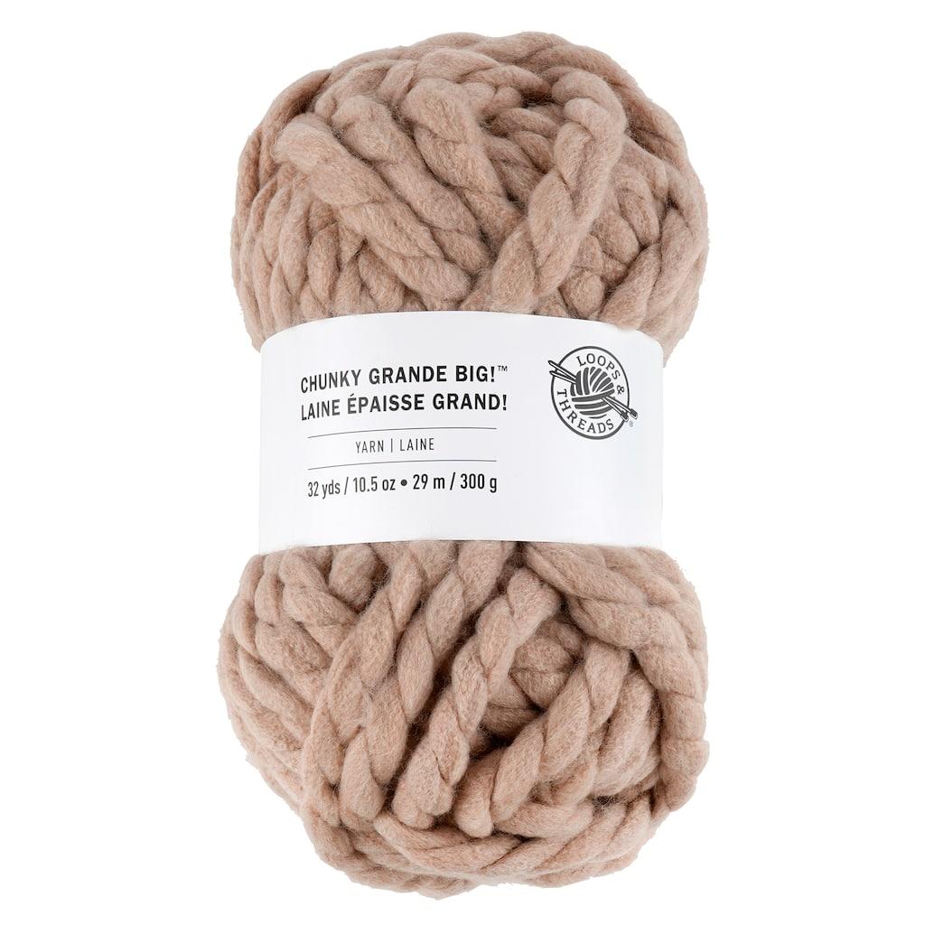 Chunky Grande Big Yarn By Loops Threads Michaels