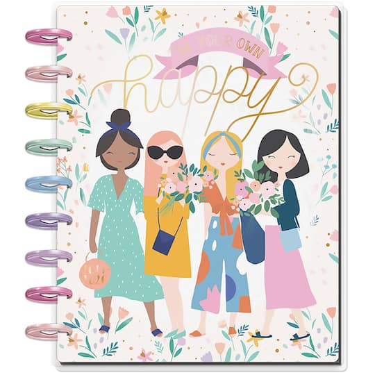 For a Happy Planner shown just like the July Setup I have here - check out the Squad Goals planner from my affiliate - Michaels Stores