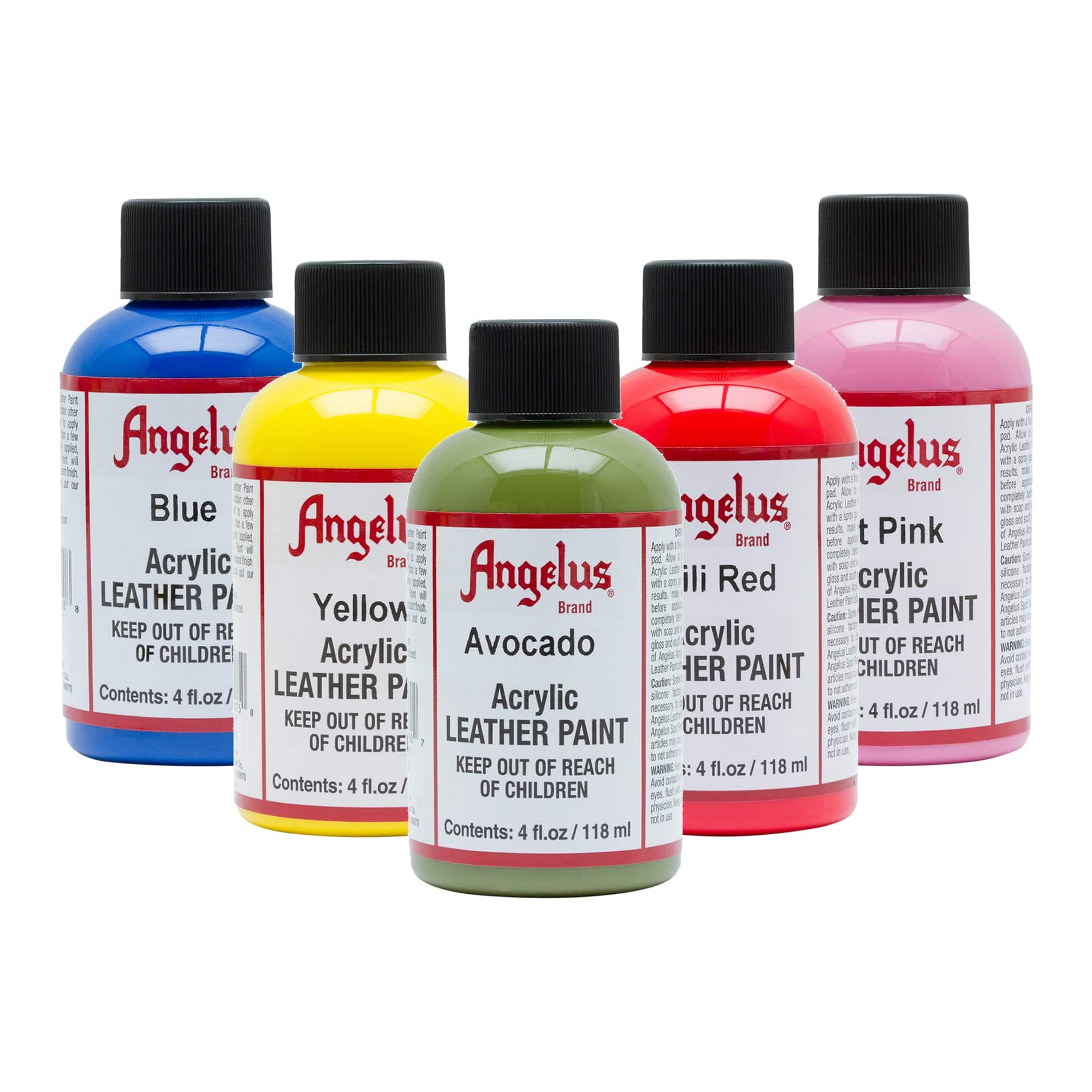 Angelus® Acrylic Leather Paint, 4oz