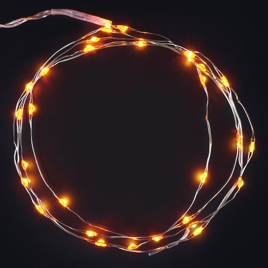 low priced 7a9a9 de6b4 30ct. Amber Icon LED String Lights by Ashland®