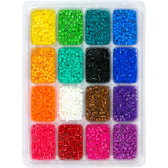 Perler Beads™ Tray of Beads