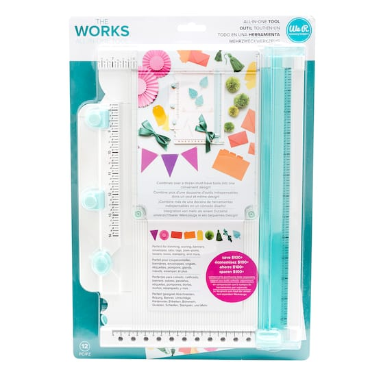 The Works? All-In-One Tool By We R Memory Keepers | Michaels�