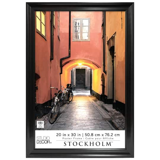Black Poster Frame, Stockholm™ By Studio Décor®