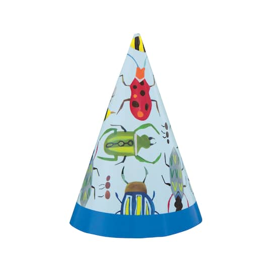 Christmas Themed 1st Birthday Party.Mini Bug 1st Birthday Party Hats 8ct
