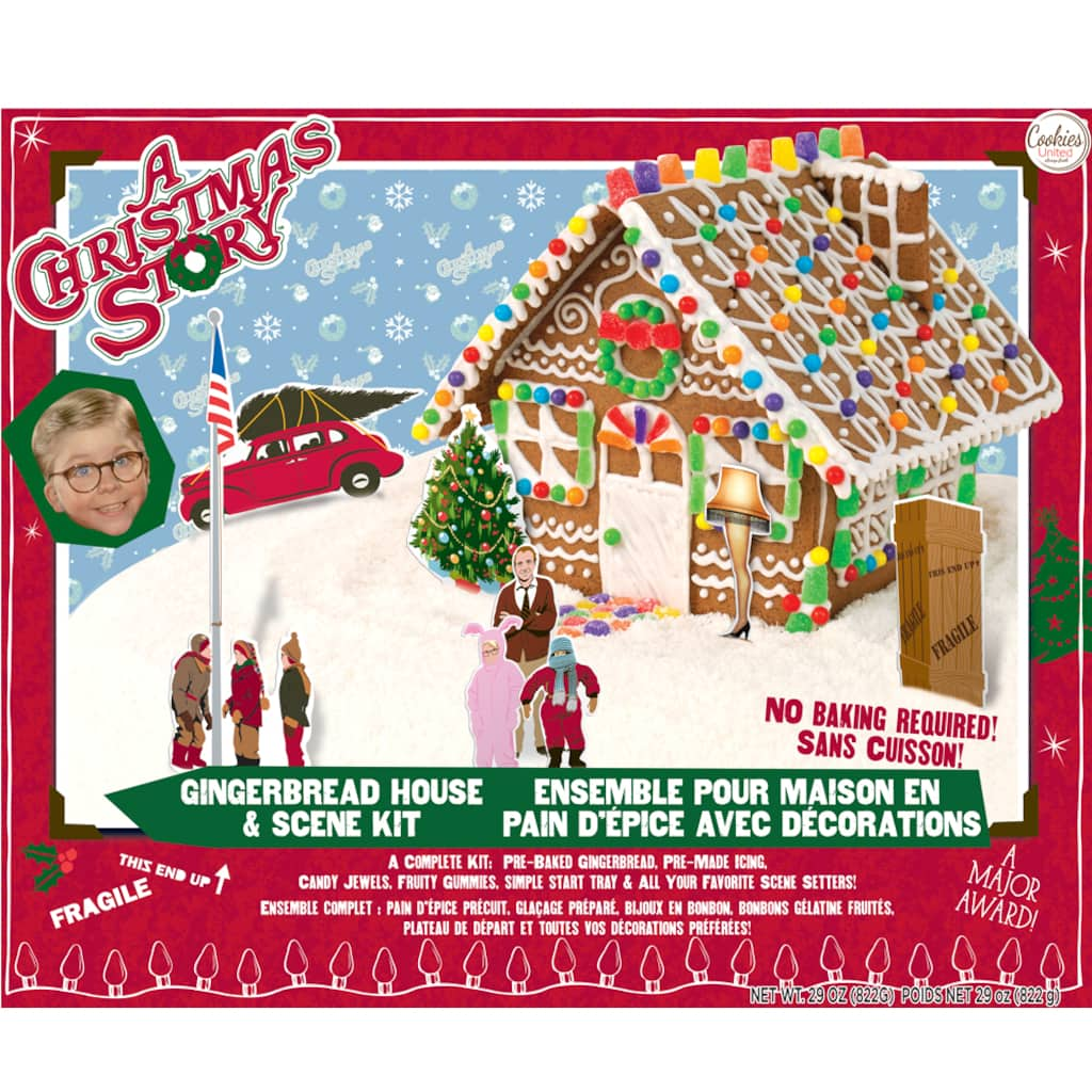 Cookies United A Christmas Story™ Gingerbread House Kit on design fashion, landscaping for home, decorating for home, design organization, design flowers, projects for home, kitchen design for home, storage for home, garden design for home, paint for home, interiors for home, inspiration for home, lighting for home, flooring for home, products for home, design patterns for home, shower designs for home, colors for home, bamboo for home, accessories for home,